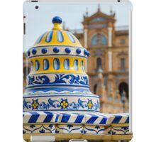 Plaza de Espana iPad Case/Skin