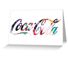 coca-cola 2 Greeting Card