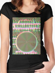 Trippy Animal Collective #3 Women's Fitted Scoop T-Shirt