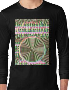 Trippy Animal Collective #3 Long Sleeve T-Shirt