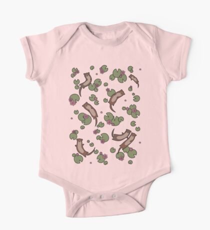 Cute Otters One Piece - Short Sleeve