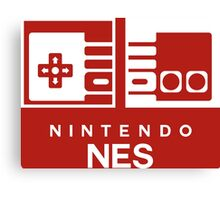 NES SWITCH Style Canvas Print