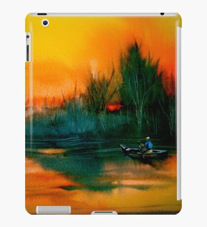 Away To The Woods... iPad Case/Skin