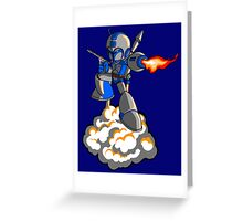 Mega Fett Greeting Card