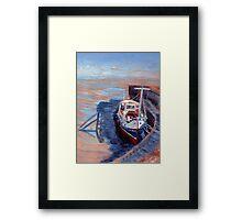 The Bristol Queen. Framed Print