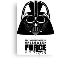 Halloween Darth Vader Star Wars Canvas Print