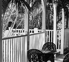 Tea on the Veranda by Vicki Field