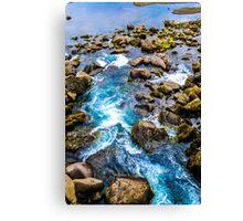 Waterfall at Thingvellir Canvas Print