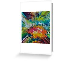 Abstract 198 Greeting Card