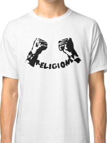 RELIGION UNCHAINED by Tai's Tees Classic T-Shirt