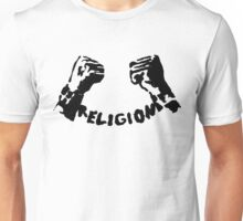RELIGION UNCHAINED by Tai's Tees Unisex T-Shirt