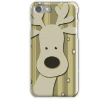 Elegant Reindeer iPhone Case/Skin