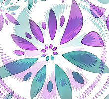 abstract flower by spetenfia
