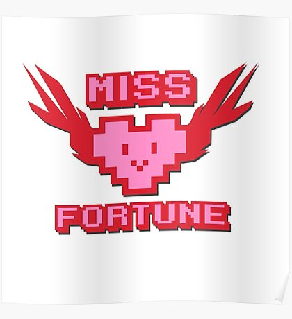 Miss Fortune Arcade! Poster