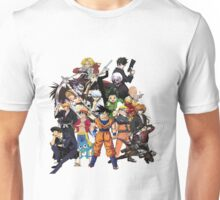 All Anime Heroes Manga Unisex T-Shirt