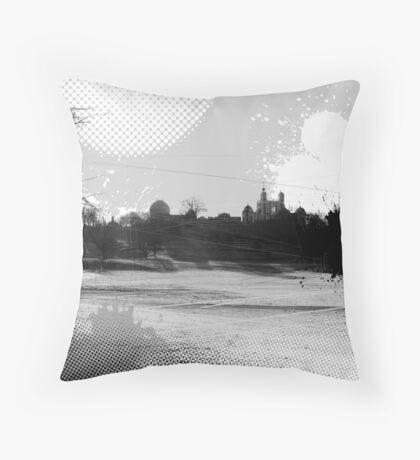 Greenwich Park Observatory Throw Pillow