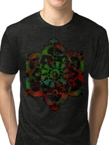 Mandala Patterns Tri-blend T-Shirt
