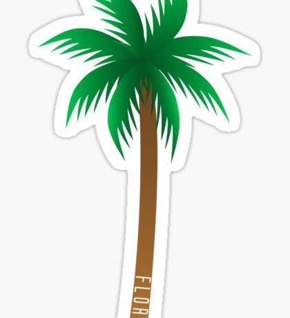 Florida Palm Tree Sticker