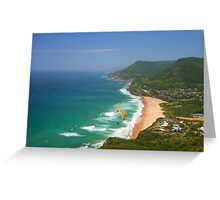 Paragliding Heaven Greeting Card