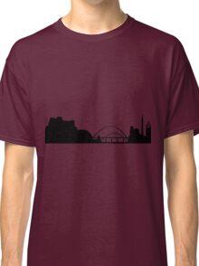 Newcastle skyline Classic T-Shirt
