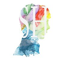 Sherlock Watercolor by merchedpillows