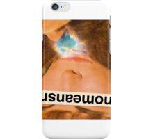 NOMEANSNO iPhone Case/Skin