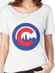 Skyline Cubs Logo Women's Relaxed Fit T-Shirt