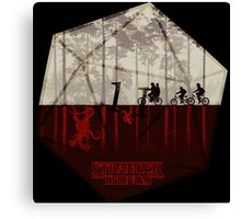 Stranger Things - Dice Eleven Canvas Print