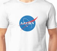 "Azurn ""NASA"" Logo Design Unisex T-Shirt"