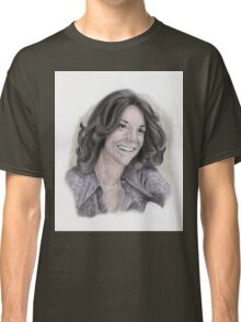 Karen Carpenter Tinted Graphite Portrait Classic T-Shirt