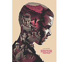Stranger Things V2 Photographic Print
