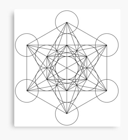 Metatrons Cube Canvas Print
