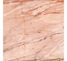 Rose-Gold Marble Photographic Print