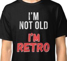 Funny Retro Birthday T Shirt Classic T-Shirt