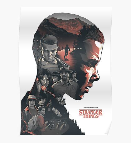 Stranger Things V1 Poster