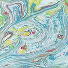Pastel Colors Marble Swirls by artonwear
