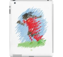 Through the eyes of a Defender No1-Raheem Sterling  iPad Case/Skin
