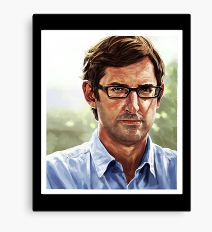 louis theroux Canvas Print