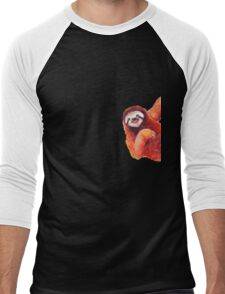 "Sloth ""Hi"" Men's Baseball ¾ T-Shirt"