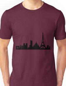 Paris skyline Unisex T-Shirt