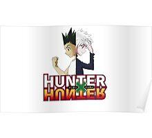 Hunter x Hunter- Killua Zoldyck & Gon Freecss Poster