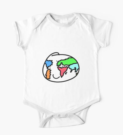 Smiling Earth One Piece - Short Sleeve