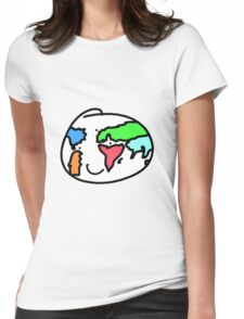 Smiling Earth Womens Fitted T-Shirt