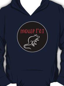 Mouse Rat band logo black background T-Shirt