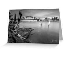 Blues Point Reserve Greeting Card