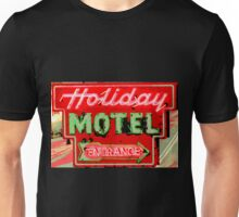 HOLIDAY MOTEL Unisex T-Shirt