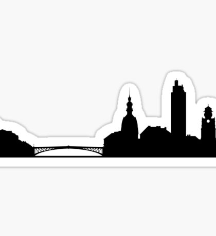 Nantes skyline Sticker