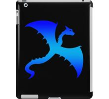 Blue Flying Dragon Design iPad Case/Skin