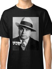 Al Capone Mafia Portrait Classic T-Shirt