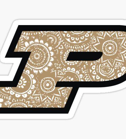 Purdue Doodle Sticker
